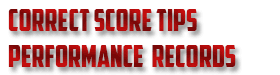 correct score tips records